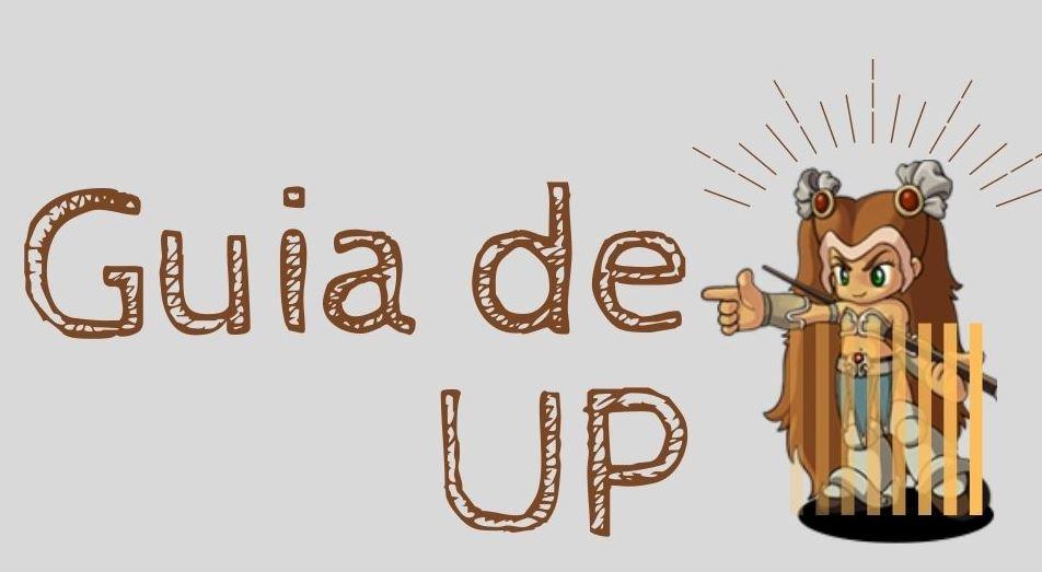 """Imagem com o escrito """"guia de up"""" para link da página referente."""